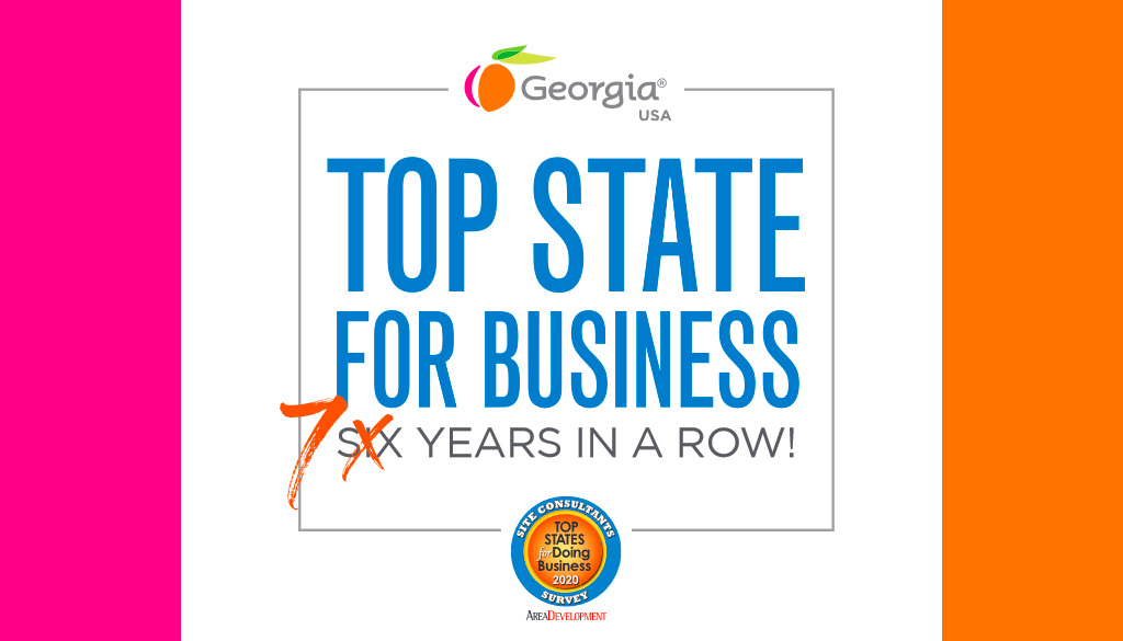 Georgia named 'Top State for Doing Business' for seventh consecutive year
